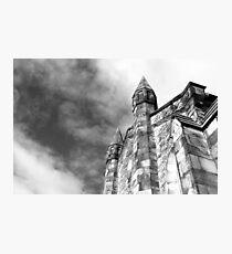 Phantasmagoria ~ Black & White Gothic Church Image  ~ St Mary's Church, Bagillt Photographic Print