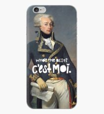 Vinilo o funda para iPhone combate favorito francés