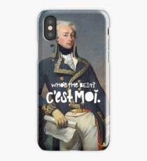 favorite fighting frenchman iPhone Case