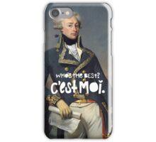 favorite fighting frenchman iPhone Case/Skin