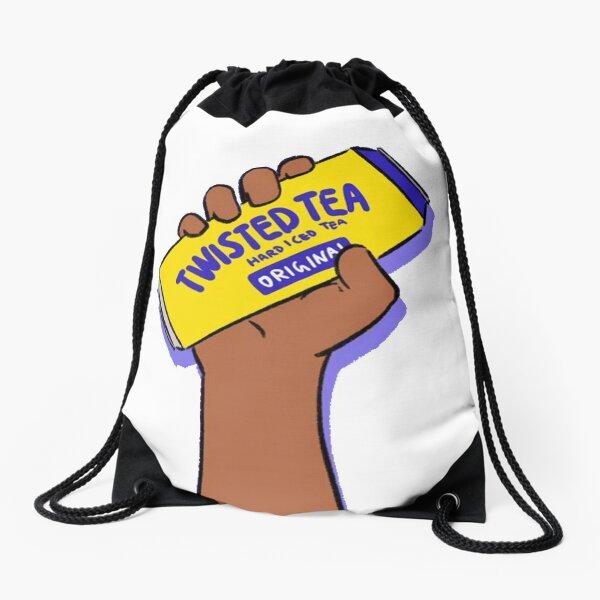 Twisted Tea Original Meme Drawstring Bag