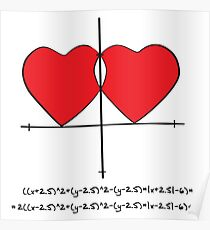 Two geek hearts  Poster