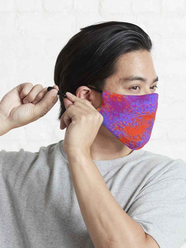 Alternate view of Fanny Pack Glitch Purple and Red Mask