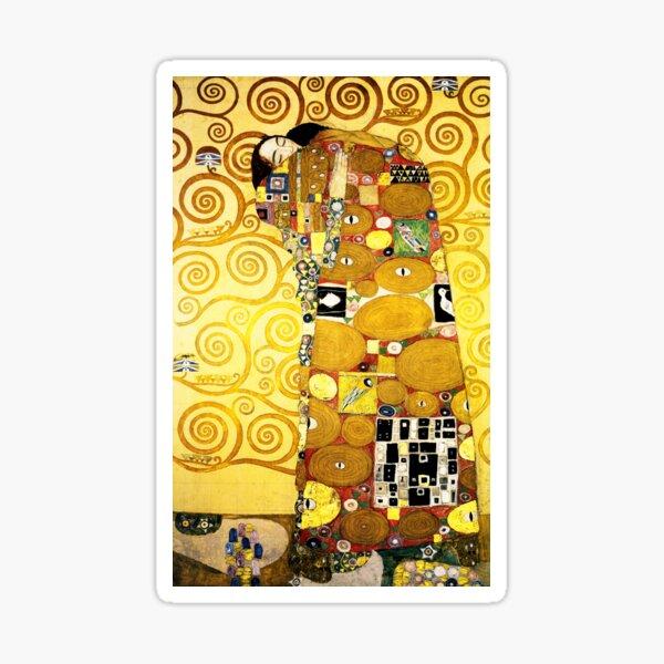 Gustav Klimt The Embrace Sticker