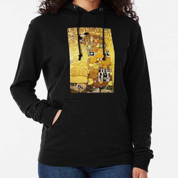 Gustav Klimt The Embrace Lightweight Hoodie