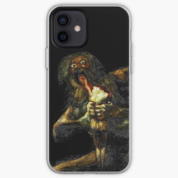 Saturn Devouring His Son - Francisco Goya iPhone Soft Case