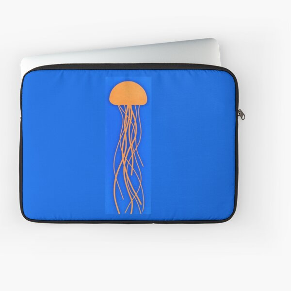 JELLYFISH DANCE - Surf Art Design - scroll down Laptop Sleeve