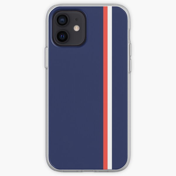 Diseño de patrón de rayas Funda blanda para iPhone