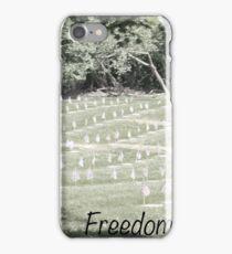 Freedom's Price iPhone Case/Skin