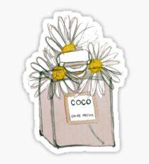 Coco Daisies Sticker