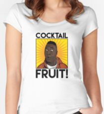 Cocktail.....FRUIT! Women's Fitted Scoop T-Shirt