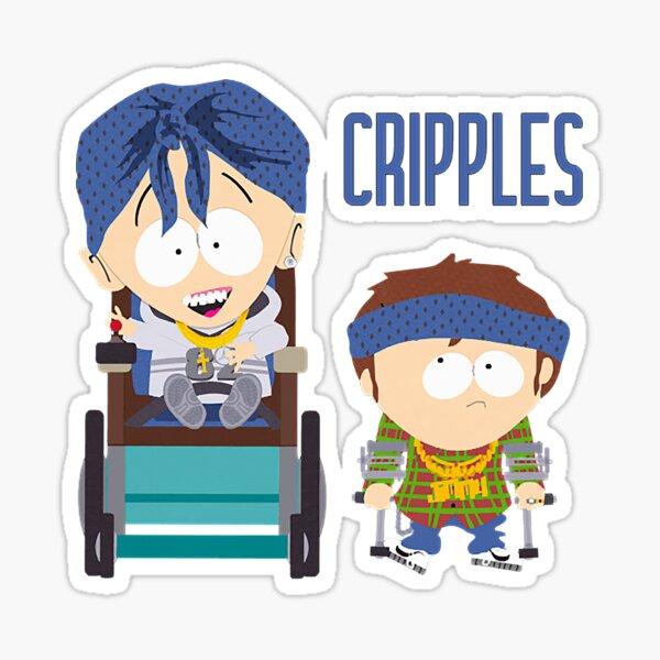 South Park / Jimmy und Timmy / CRIPPLES Sticker