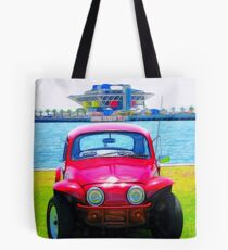 Bug And The Pier Tote Bag