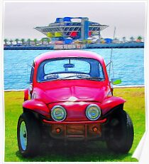 Bug And The Pier Poster