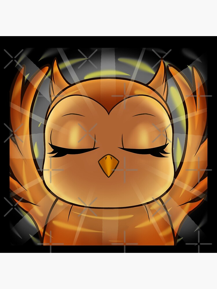 hedwid 1 Year Enlightened Owl by AV90