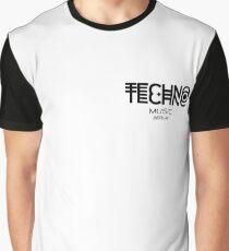 TECHNO MUSIC Graphic T-Shirt