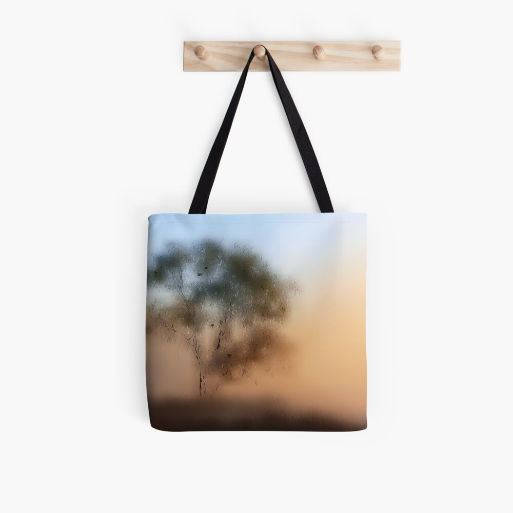 Meet Me At The Old Foggy Tree Tote Bag
