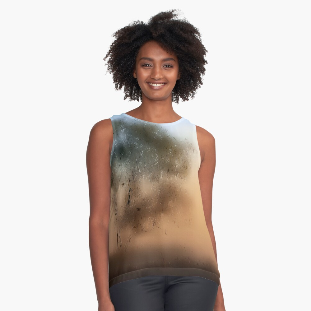 Meet Me At The Old Foggy Tree Sleeveless Top