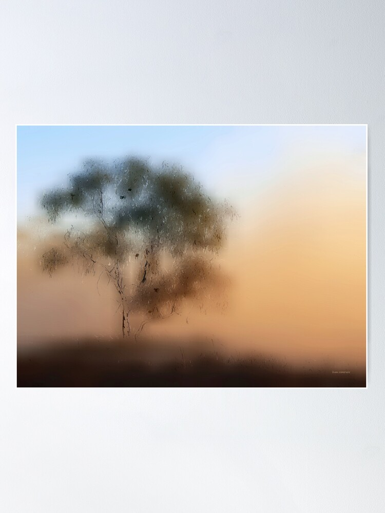 Alternate view of Meet Me At The Old Foggy Tree Poster