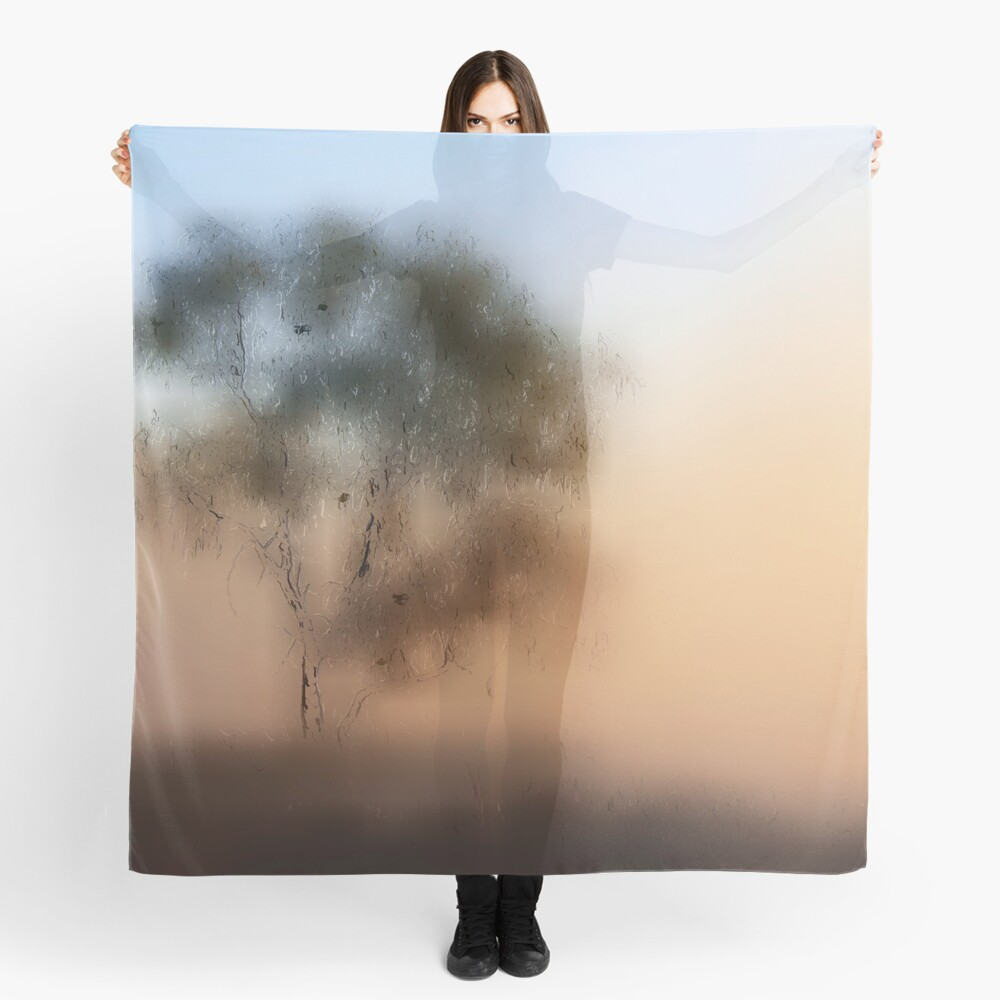 Meet Me At The Old Foggy Tree Scarf