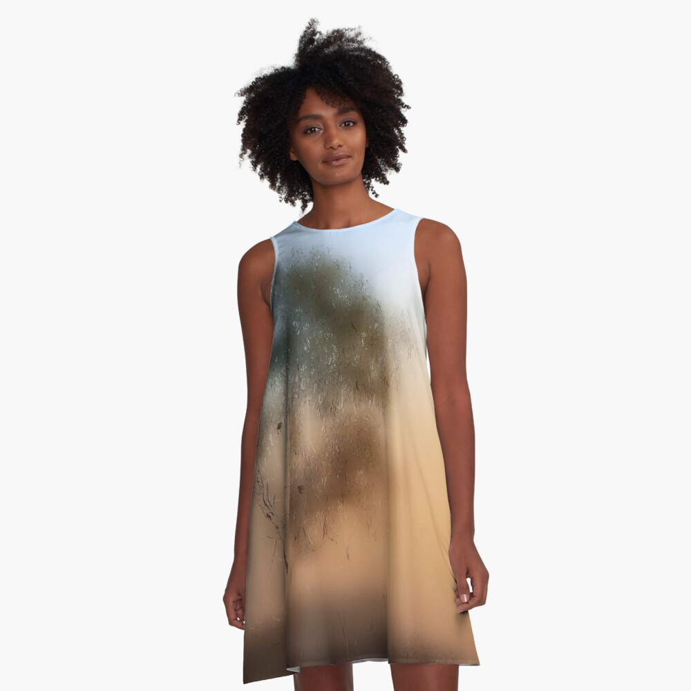 Meet Me At The Old Foggy Tree A-Line Dress