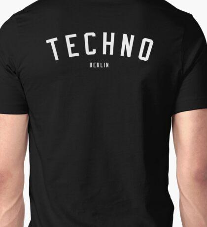 TECHNO BERLIN Unisex T-Shirt