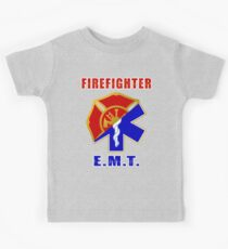 Firefighter-EMT Kids Tee