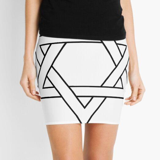 #Star of #David #Clipart #StarOfDavid Mini Skirt