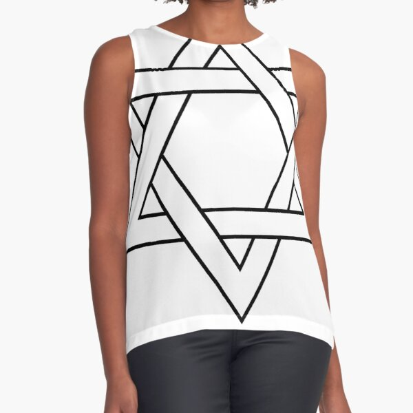 #Star of #David #Clipart #StarOfDavid Sleeveless Top