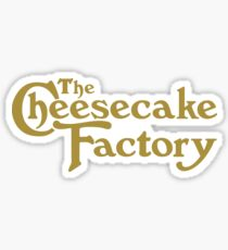 The Cheesecake Factory Sticker
