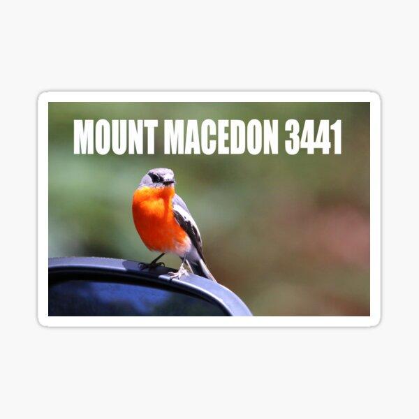 Mount Macedon 3441 Sticker
