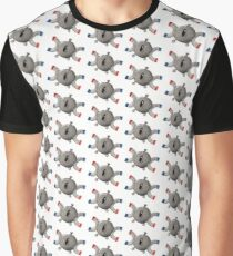 Pokémon Magnemite watercolor illustration Graphic T-Shirt