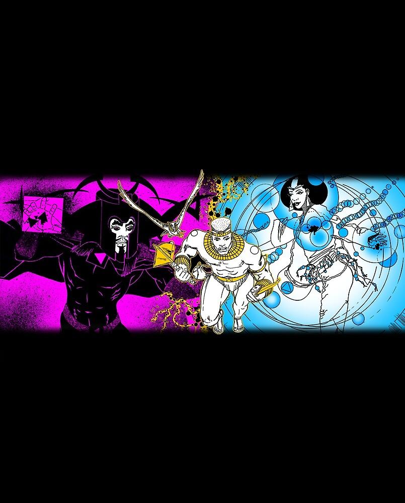 AYELE NUBIAN WARRIOR™ Character Mix by cjjuzang