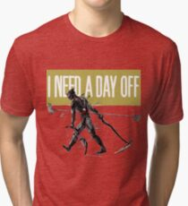 warframe i need a day off Tri-blend T-Shirt