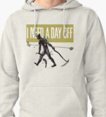 warframe i need a day off Pullover Hoodie