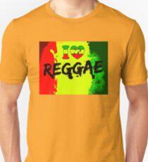 I love reggae Unisex T-Shirt