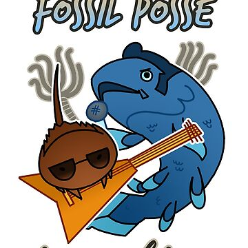 The Living Fossil Posse de toothpaste-face