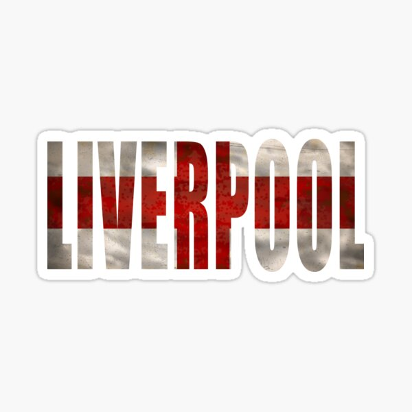 Liverpool City FC England Great Britain Sticker