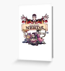D&D is For Nerds S2 Greeting Card