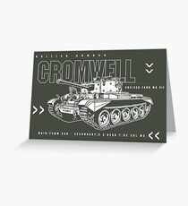 Cromwell Tank Mark VII Greeting Card