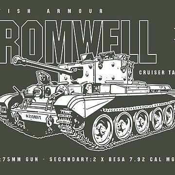Cromwell Tank Mark VII by b24flak