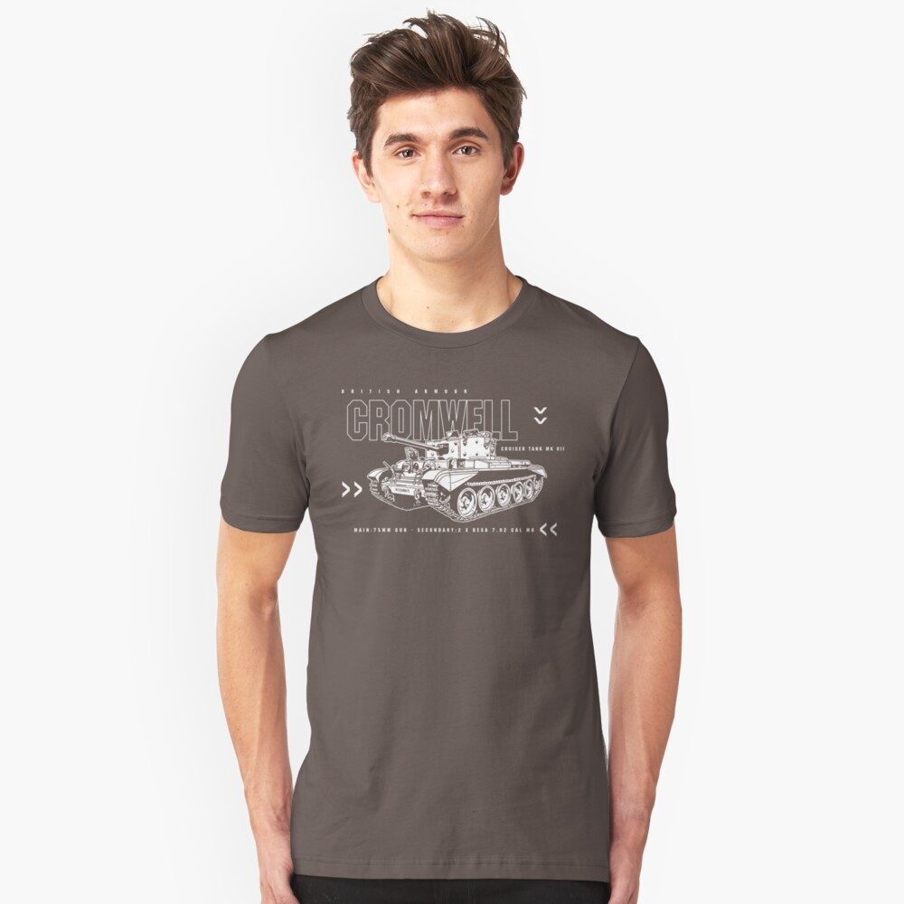 Cromwell Tank Mark VII Slim Fit T-Shirt