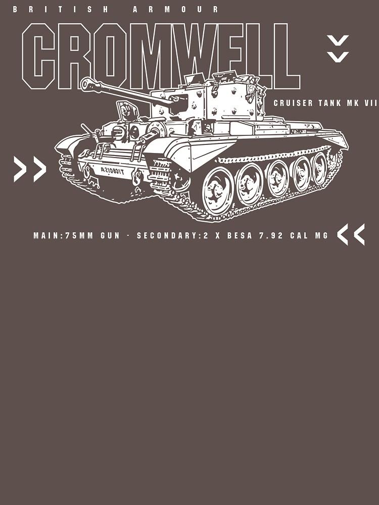 Cromwell Tank Mark VII by b24flak