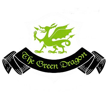 The Green Dragon by baselinegraphix