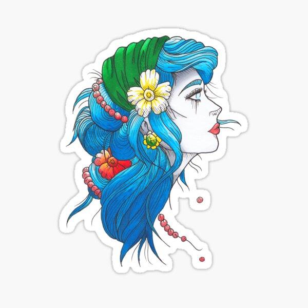 Zigeunermädchen Sticker