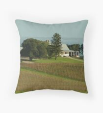 Joe Mortelliti Gallery - Spray Farm homestead, Bellarine Peninsula, Victoria, Australia. Throw Pillow