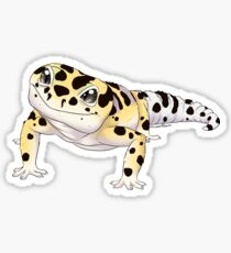 Bold Leopard Gecko Sticker