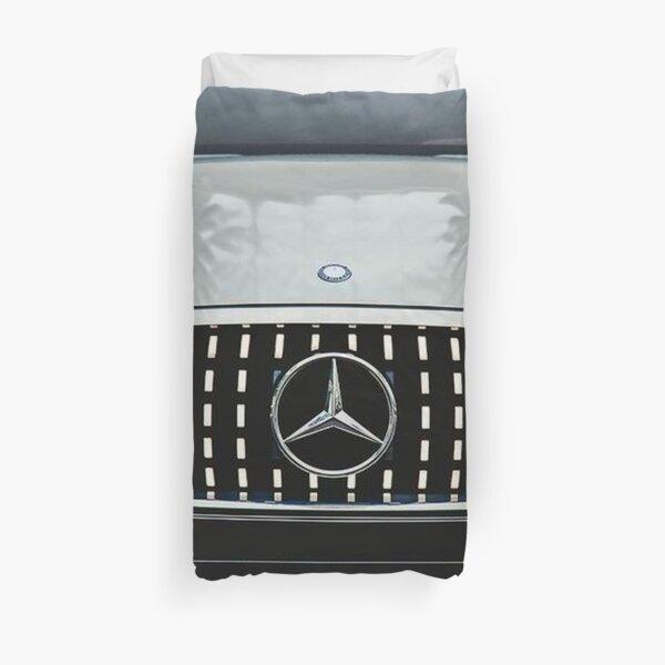 Mercedes Benz blanche Housse de couette