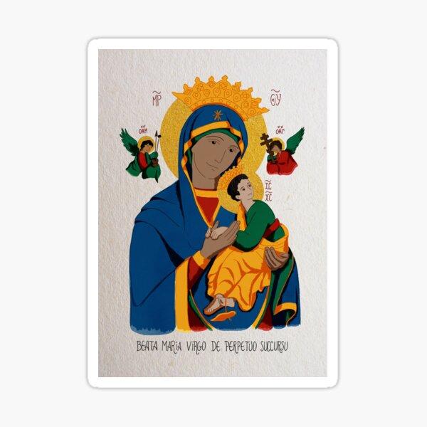 Notre Dame du Perpétuel Secours Sticker