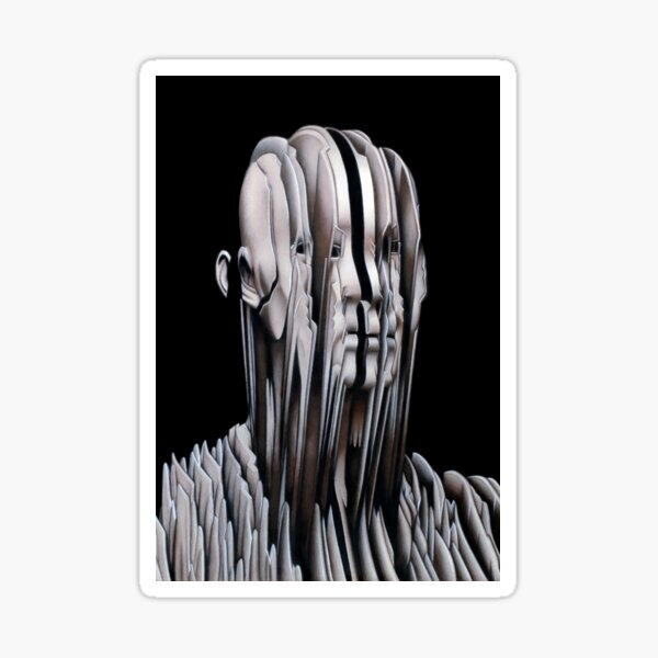 REGROWTH (Colour pencil drawing) Sticker